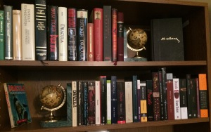 My personal collection of Dracula editions.