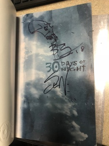 30 Days of Night Inside Cover